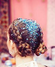 10 HAIR GLITTER POTS FRESHERS UNI FEST SPARKLY RAINBOW FACE BODY UNICORN MERMAID