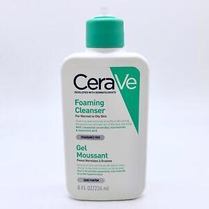 CeraVe Foaming Facial Cleanser 236ml - NEW - No Pump Top #2004