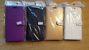 Book, wallet style PU leather flip phone case cover to fit Microsoft Lumia 950