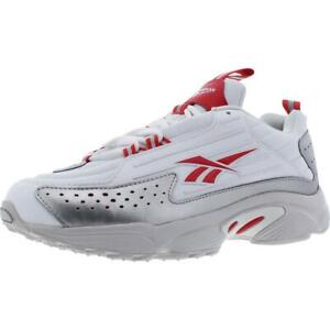 Reebok Mens DMX Series 2200 White Casual Running Shoes 5.5 Medium (D) BHFO 6429
