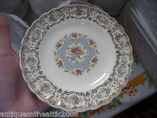 RARE Service for (12) Limoges USA Lyric Pattern - 22 K Gold-108 Pcs Exc Cond