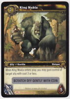 WOW World of Warcraft TCG Unscratched Loot Card King Mukla Banana Charm WOW PET