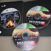 Mass Effect 1 and 2 (Xbox 360) Bundle Lot - Tested, discs only
