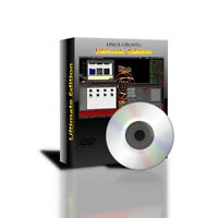 "32 Bit Linux Ubuntu ""Ultimate Edition"" replacement for Windows XP Vista 7 DVDRom"