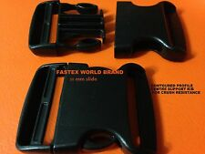 BUCKLE SIDE RELEASE 50 mm WORLD FASTEX x 2 INC POSTAGE
