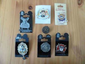 Disney Trading Pin - Lot Seven (7) Pirates of the Carribean Pins