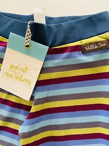 NWT Matilda Jane MJ boutique Rasin Straightees pants paint by numbers size 4