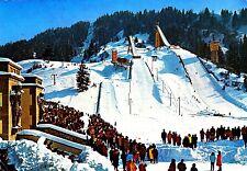 Garmisch-Partenkirchen , Olympia-Skistadion, Ansichtskarte, 1973 gelaufen