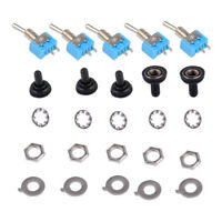 5set Rotary Potentiometer Knobs Caps with 5Pcs Counting Dial 0-100 ScaleCR