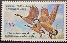 Canada 1987 Canada Wildlife Habitat Conservation 'Stamp'. MNH.