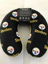 Pittsburgh Steelers Print NFL Memory Foam Relaxation Neck Pillow Football New