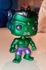 Marvel Metallic Green Hulk Funko Pop Vinyl - CUSTOM