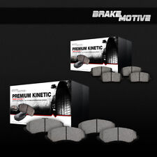 Front And Rear Ceramic Brake Pads For Ford Edge Lincoln MKX