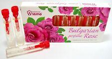 Genuine Bulgarian Rose Perfume Essence Rosa Damascena 10pcs x 2.1ml Divine Aroma