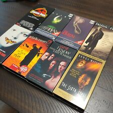 Scary Action SciFi Movies Vhs Tape Lot of 8 Jurassic Park Omen Sixth Sense Lambs