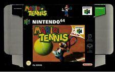 Nintendo  Mario tennis Promo Display box N64 dealer shop official 64