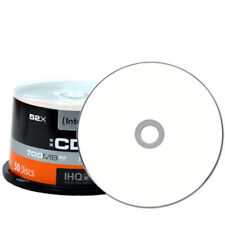 50x Intenso CD-R Rohlinge 700 MB 52x bedruckbar weiß printable Cakebox