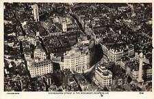 London Gracechurch Street & The Monument from the Air, Aerofilm Series, Panorama
