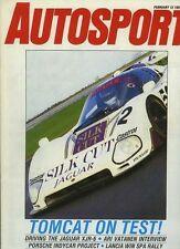 Autosport 12th 1987 de febrero * TWR Jaguar XJR-6 * prueba de pista