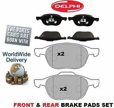 FOR VOLVO S40 2.0 DIESEL 2004--> NEW FRONT & REAR BRAKE DISC PADS SET