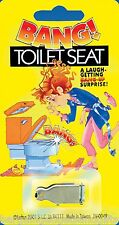 BANG TOILET SEAT PRACTICAL JOKE TRICK BOYS MENS CHILDRENS TOY GADGET GIFT