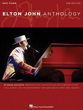 ELTON JOHN ANTHOLOGY EASY PIANO SHEET MUSIC SONG BOOK