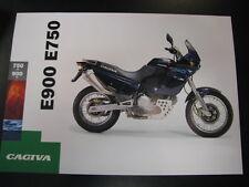 Brochure Cagiva E900 / E750. (Engels)
