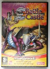 Fisher price imaginext bataille castle pc cd-rom/mac game brand new & sealed uk!