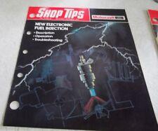 FORD Motorcraft Shop Tips Vol. 17, No.10~Nov-Dec.1979~New Electronic Fuel Inj~EC
