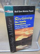 RITCHIE MILLER Reclaiming Family Conscience VHS new Christian NWT values