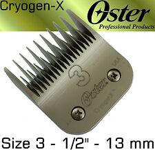 13 mm tête de rasage / Outil de coupe Oster doré A5 MOSER MAX 45/50, verre 45/50