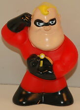 "4.75"" Bob Mr Incredible Bath Toy Action Figure Disney World Pixar Incredibles"