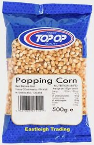 POPCORN Seeds Popping Maize Kernels For Pan Method Or Machine Maker *CHOOSE QTY*