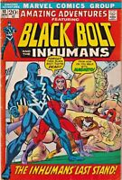 AMAZING ADVENTURES#10 VG/FN 1972 THE INHUMANS MARVEL BRONZE AGE COMICS