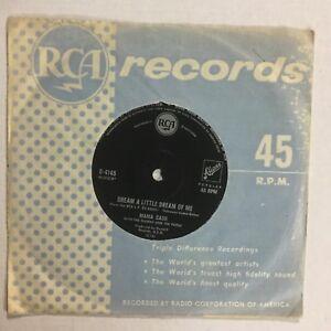 """Mama Cass Dream A Little Dream Of Me OZ Pressing RCA Label 7"""" Single Record"""