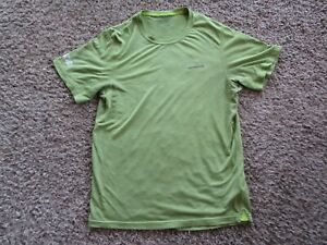 Patagonia The Cycling House Green Cycling Jersey Shirt Short Sleeve Men's Size S