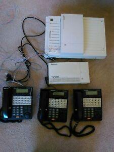 Panasonic KX-TD816 Digital Super Hybrid System and TVS50 Voice Processing System
