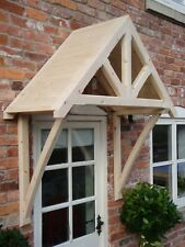 "Timber Front Door Canopy Porch, ""THE WHITEMERE"""