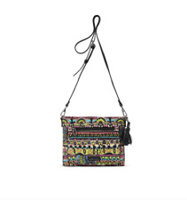 BNEW Sakroots Camden Small Crossbody - Neon One World Business