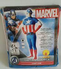 MARVEL Captain America 2nd Skin/Fancy Dress/Stag Do! Medium Rubies. Mens/Boys