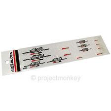 Mugen 90000-XYD-314B Mugen Power Mini Sticker Set Decal Sheet Genuine Part JDM