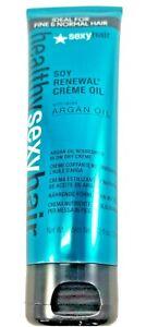 Healthy Sexy Hair Soy Renewal Creme Oil with Argan Cream 4.2 oz
