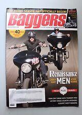 BAGGERS Magazine August 2014 Custom Touring Motocycle