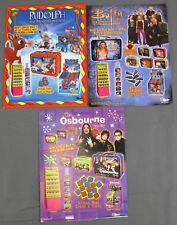 3x Dart Bubble Gum Lunch Box Promo: Buffy Vampire Slayer Osbourne Family Rudolph