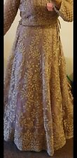 Bridal Dusty Pink Lengha size  10 and 12  available
