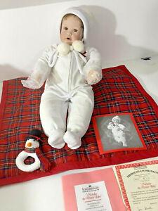 "Ashton-Drake Galleries ""''Nicholas The Winter Baby"" Porcelain D5"