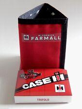 IH McCormick Farmall Red Nylon Trifold Wallet