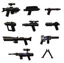 Little Arms - 9 Blaster Gewehr Waffen Zubehör Set für LEGO® Star Wars Figuren