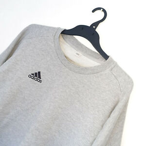 Men's ADIDAS TANGO Grey Crew Neck Sweatshirt/Jumper *FITS* Size M *VGC*