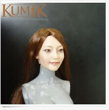 New Kumik Km025 Oriental beauty female Headplay Hair Implants 1/6 Figure